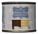 Amitha Verma CY04 Transform Furniture Paint, Chalk Finish, Champagne Yellow, 4-oz.