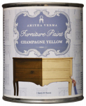 Amitha Verma CY32 Transform Furniture Paint, Chalk Finish, Champagne Yellow, 32-oz.