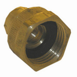"Larsen Supply 15-1769 BRS 1/4"" Tap Hose Cap"