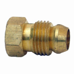 "Larsen Supply 17-0411 1/4""BRS Break Away Nut"