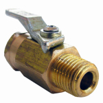 Larsen Supply 17-0903 1/4FPTx1/4MPT Bal Valve