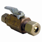 Larsen Supply 17-0995 1/4x1/4 Compact or Compression Ball Valve