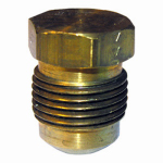 "Larsen Supply 17-3931 3/8"" Brass Flare Plug"