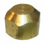"Larsen Supply 17-4011 1/4"" Brass Flare Cap"