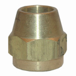 "Larsen Supply 17-4111 1/4"" Brass Flare Nut"