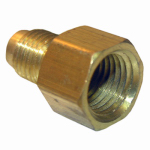 Larsen Supply 17-4609 1/4x1/8 FPT Brass Adapter