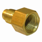 Larsen Supply 17-4611 1/4x1/4 FPT Brass Adapter