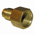 Larsen Supply 17-4613 1/4x3/8 FPT Brass Adapter