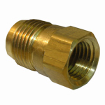 Larsen Supply 17-4629 3/8x1/4 FPT Brass Adapter
