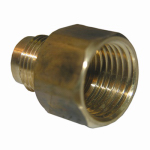 Larsen Supply 17-4633 3/8x1/2 FPT Brass Adapter