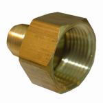 Larsen Supply 17-4635 3/8x3/4 FPT Brass Adapter