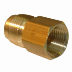 Larsen Supply 17-4647 1/2x3/8 FPT Brass Adapter