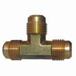 "Larsen Supply 17-4449 1/2"" Brass FL Tee"