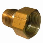 Larsen Supply 17-4655 5/8x1/2 FPT Brass Adapter