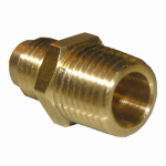 Larsen Supply 17-4809 1/4x1/8 MPT Brass Adapter