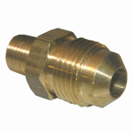 Larsen Supply 17-4827 3/8x1/8 MPT Brass Adapter