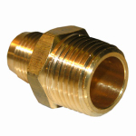 Larsen Supply 17-4833 3/8x1/2 MPT Brass Adapter