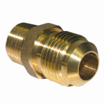 Larsen Supply 17-4847 1/2x3/8 MPT Brass Adapter