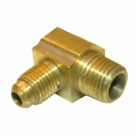 Larsen Supply 17-4909 1/4FLx1/8MPT Brass Elbow