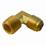 Larsen Supply 17-4929 3/8FLx1/4MPT Brass Elbow