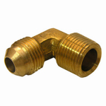 Larsen Supply 17-4949 1/2FLx1/2MPT Brass Elbow