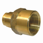 Larsen Supply 17-5855 5/8Femx1/2M FL Adapter