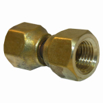 "Larsen Supply 17-5911 1/4"" Brass Female FL Swivel"