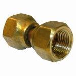 "Larsen Supply 17-5931 3/8"" Brass Female FL Swivel"