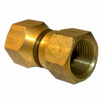 "Larsen Supply 17-5957 5/8"" Brass Female FL Swivel"