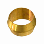 "Larsen Supply 17-6011 2PC 1/4"" Brass CMP Sleeve"