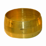 "Larsen Supply 17-6057 2PC 5/8"" Brass CMP Sleeve"