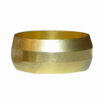 "Larsen Supply 17-6073 2PC 7/8"" Brass CMP Sleeve"