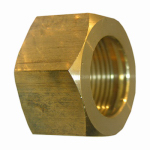 "Larsen Supply 17-6131 2PC 3/8"" Brass CMP Nut"