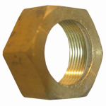 "Larsen Supply 17-6135 3/8"" Chrome Brass Nut/Sleeve"
