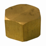 "Larsen Supply 17-6187 1/2"" Brass CMP Cap"