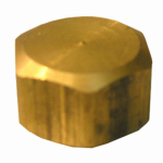 "Larsen Supply 17-6189 5/8"" Brass CMP Cap"