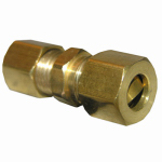 "Larsen Supply 17-6207 3/16"" Brass CMP Union"
