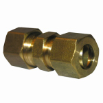 Larsen Supply 17-6229 3/8x1/4 Brass Compact or Compression Union