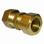 Larsen Supply 17-6231 Union, Compression, Brass, 3/8-In.