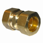 "Larsen Supply 17-6273 7/8"" Brass CMP Union"