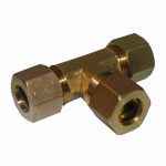 "Larsen Supply 17-6449 1/2"" Brass CMP Tee"