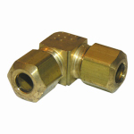 "Larsen Supply 17-6511 1/4"" Brass CMP Elbow"