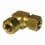 "Larsen Supply 17-6531 3/8"" Brass CMP Elbow"