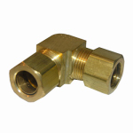 "Larsen Supply 17-6549 1/2"" Brass CMP Elbow"
