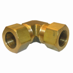"Larsen Supply 17-6557 5/8"" Brass CMP Elbow"
