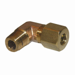 Larsen Supply 17-6909 1/4CMPx1/8MPT Brass Elbow