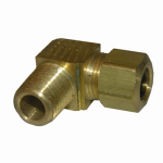 Larsen Supply 17-6929 3/8CMPx1/4MPT Brass Elbow