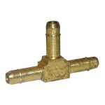 "Larsen Supply 17-7401 1/8"" Brass Barb Tee"