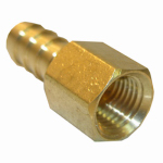 Larsen Supply 17-7611 1/4FPTx1/4 Barb Adapter