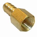 Larsen Supply 17-7613 1/4FPTx5/16Barb Adapter
